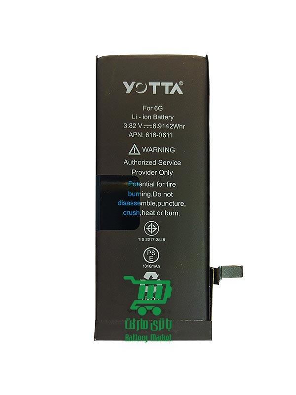 باتری موبایل آیفون iphone 6